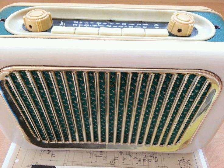 Röhrenradio Spatz 58 DDR Radio Transistorradio alt Sammeln VEB Elektro- Akustik
