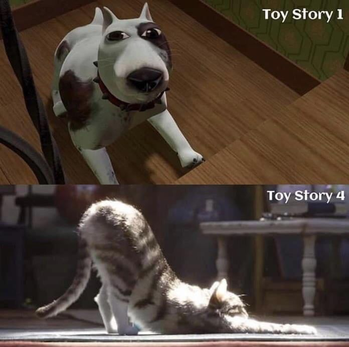 It S Amazing How Far Animation Has Evolved Since The First Toy