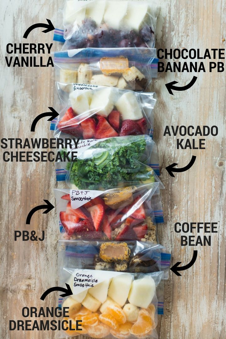 14 Smoothie Freezer Packs • A Sweet Pea Chef  – Smoothies