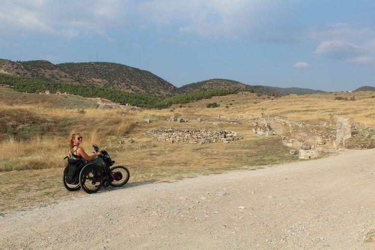 #BatecTravels Turquía con un handbike Batec / Turkey with a Batec handbike