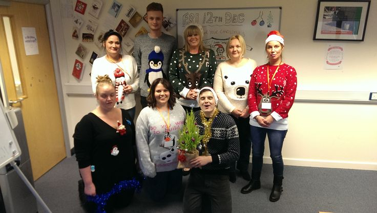 National Christmas Jumper Day at Bunches :-)