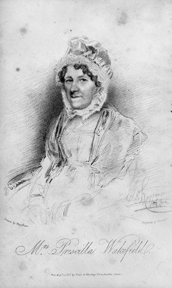Priscilla Wakefield, nee Priscilla Bell (1751–1832) was an English Quaker, educational and feminist economics writer, and philanthropist.  http://biodiversitylibrary.org/creator/9656