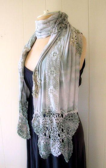 Beautiful romantic scarf
