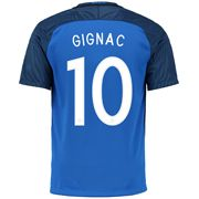 Andre-Pierre Gignac 10 2018 FIFA World Cup France Home Soccer Jersey