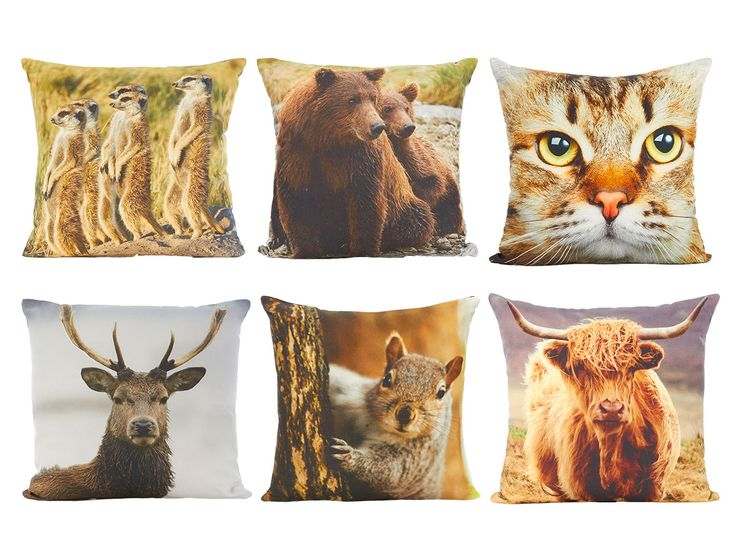 We <3 these fab animal cushions! Pick yours up from George Home.