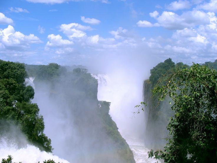 Οι καταρράκτες της Βικτωρίας στη Ζιμπάμπουε