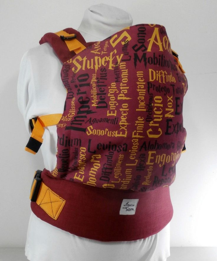 Harry Potter Full Buckle Baby Carrier, Plus Size Babywearing, Soft Structured Carrier, Toddler baby carrier, Geek Babywearing, Gryffindor by GracieandSam on Etsy https://www.etsy.com/listing/217073276/harry-potter-full-buckle-baby-carrier