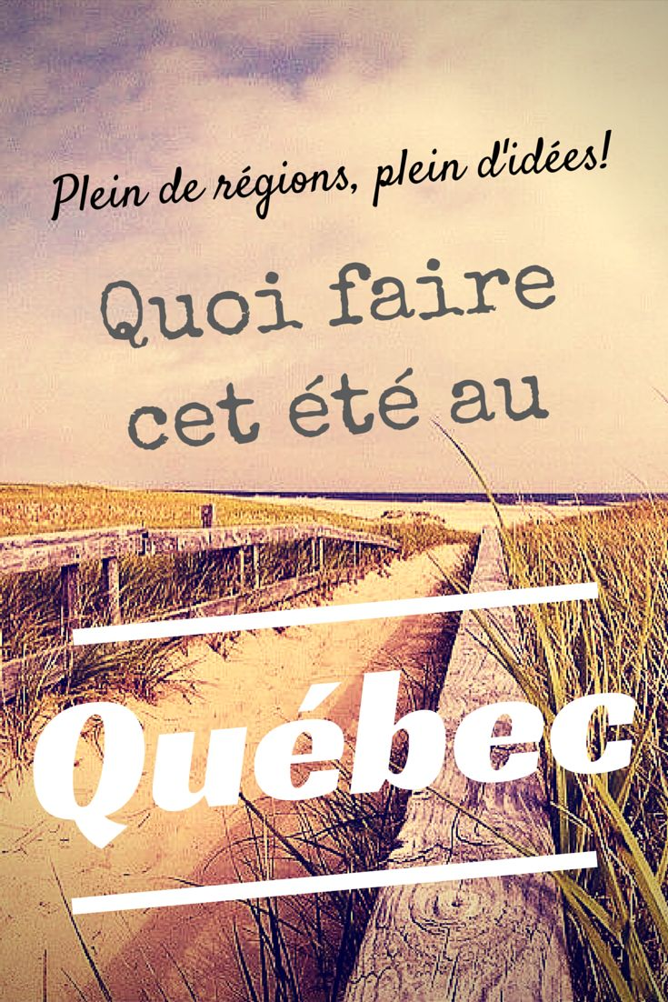 Quoi faire au Québec cet été? Plein de régions, plein d'idées! - Moi, mes souliers http://www.moimessouliers.org/quoi-faire-au-quebec-cet-ete-plein-de-regions-plein-didees?utm_content=bufferfc08e&utm_medium=social&utm_source=pinterest.com&utm_campaign=buffer?utm_content=bufferfc08e&utm_medium=social&utm_source=pinterest.com&utm_campaign=buffer