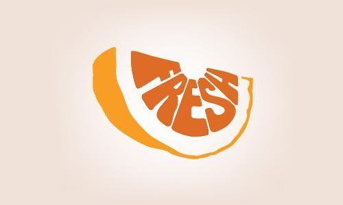 Fresh orange logo