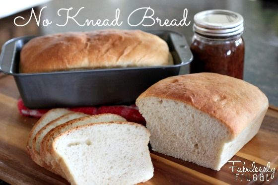 Make 5 delicious, fluffy loaves of bread in 2 hours, start to melt in your mouth finish.   http://fabulesslyfrugal.com/?p=135841