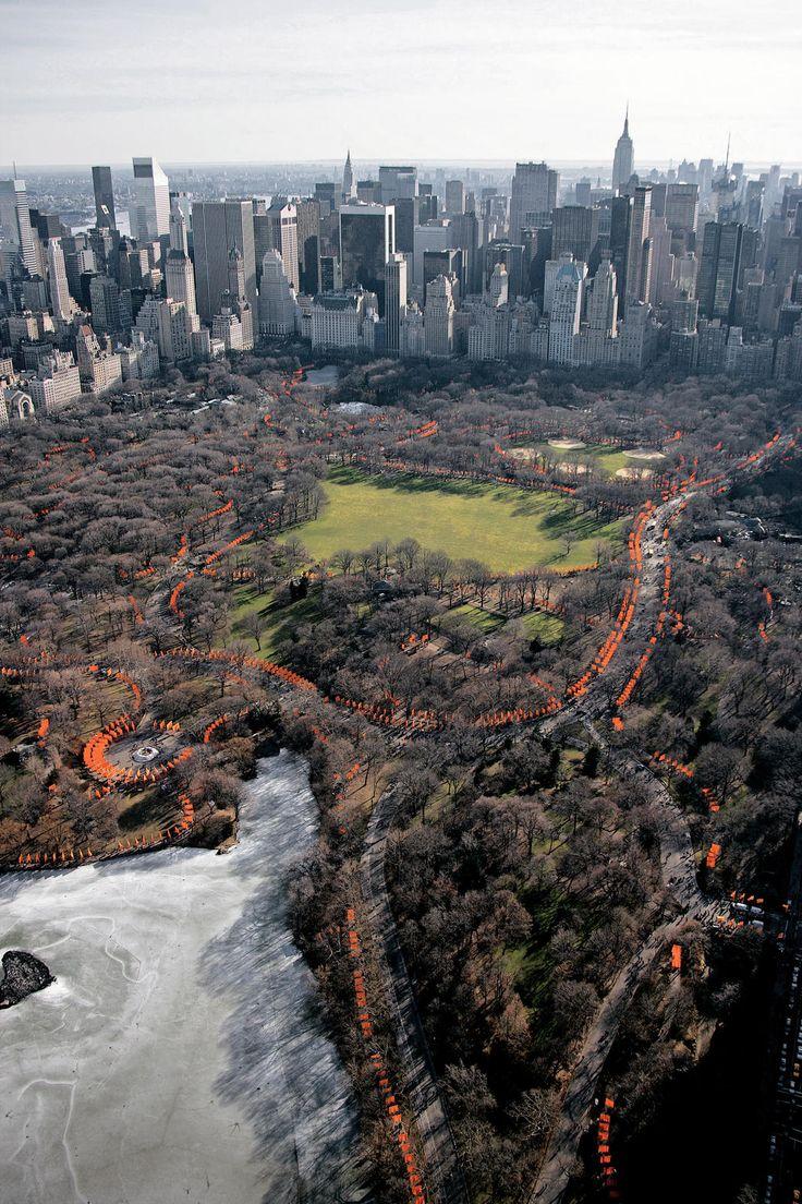 Takashi murakami sun flowers and contemporary art uniqlog - The Gates Central Park New York City 1979 2005