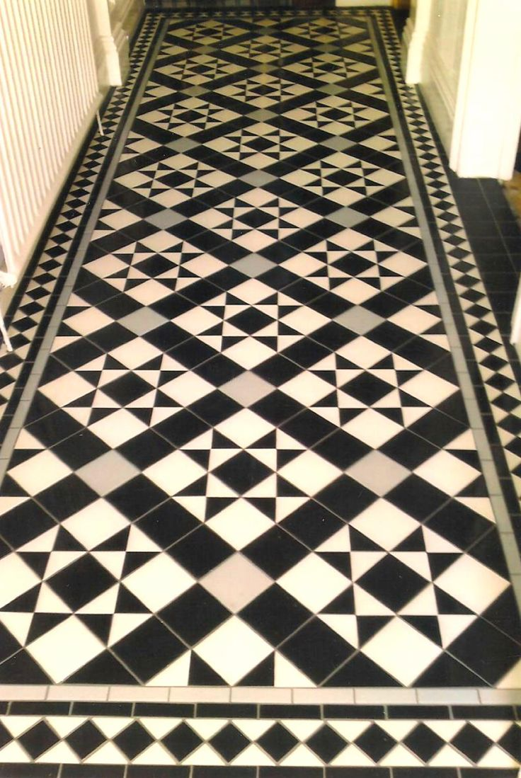 Victorian tile idea for a stylish home