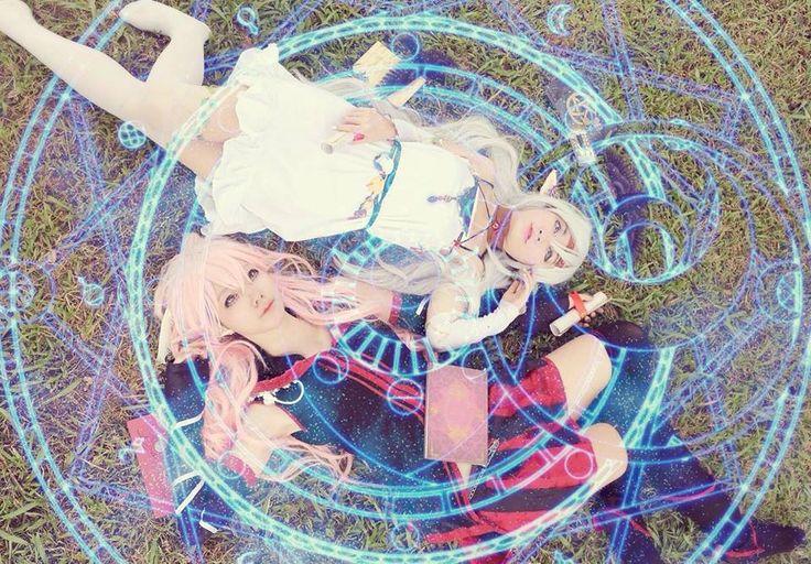 Magic circle - Lindsay Avdoire(Lindsay) Soul Guide Minimo, Lina Aquamarine Sunlight's Grace Linia Cosplay Photo - WorldCosplay