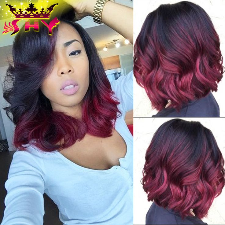 Online Shop 2016 New Fashion Glueless Full Lace Human Hair Wigs 1b#99j Lace Front Human Hair Wigs For Black Women Virgin Hair Full Lace Wig | Aliexpress Mobile