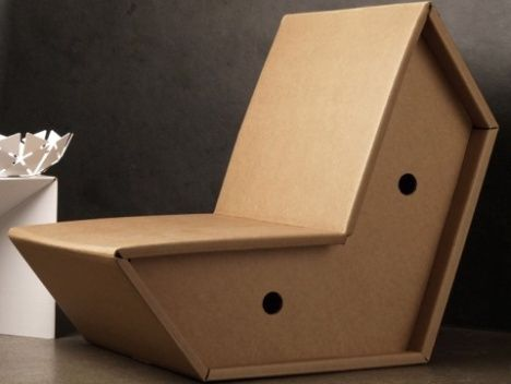 Personalized Corrugated Furniture Font B Cardboard B Font