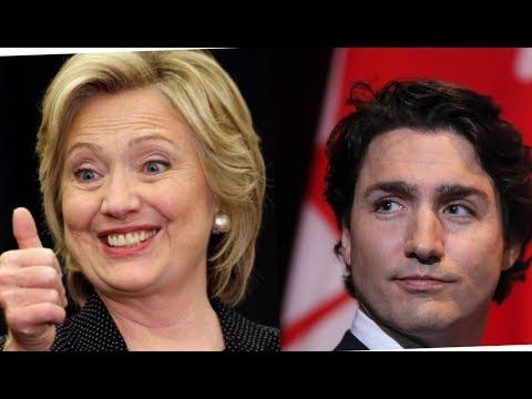 Clinton Foundation Steals $20 Million Dollars of Canadian Tax Money, Thanks Trudeau - YouTube