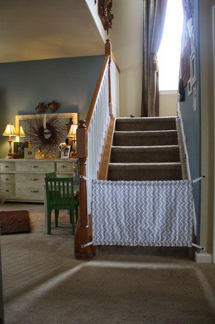 McCash Family blog: Homemade Baby Gate {A Tutorial}