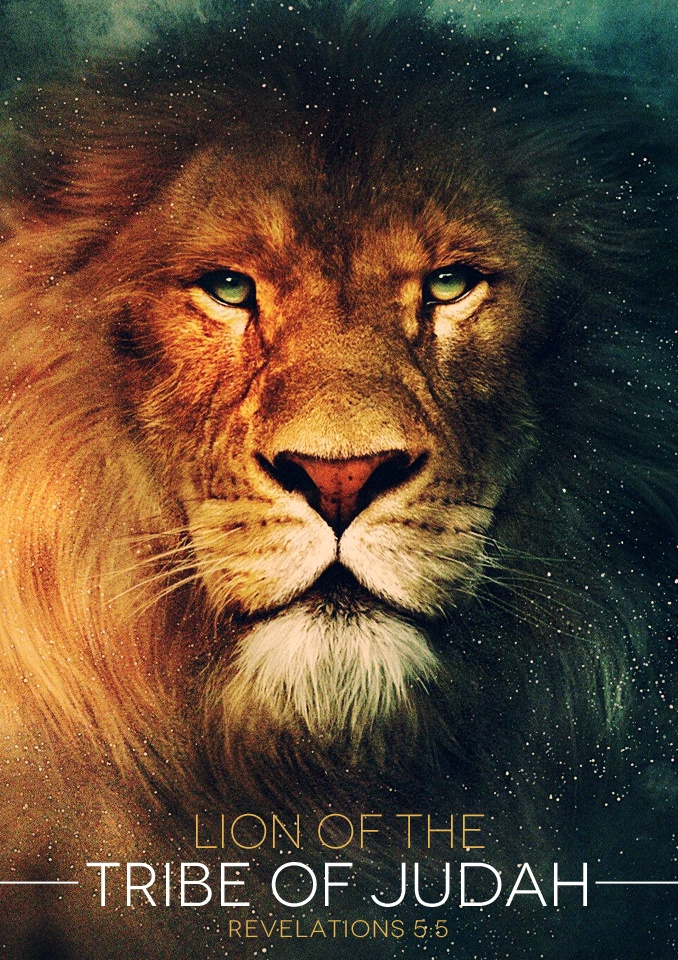 """And one of the elders saith unto me, Weep not: behold, the Lion of the tribe of Judah, the Root of David, hath prevailed to open the book, and to loose the seven seals thereof.""  Revelation 5:5"