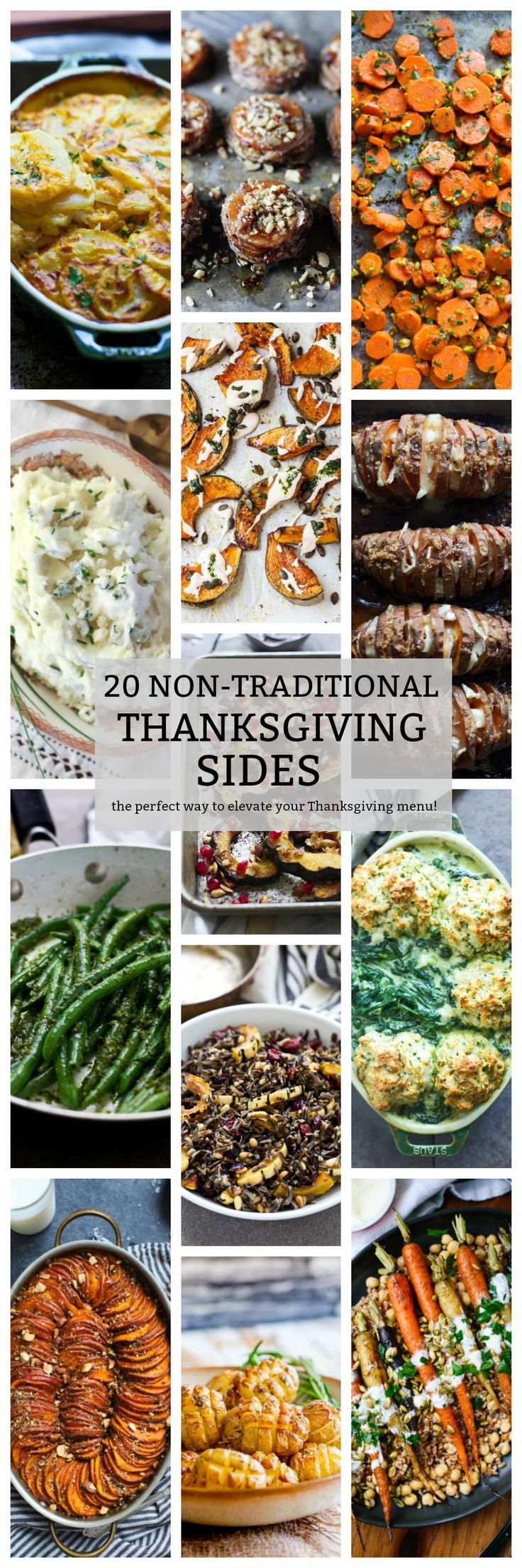 20 Non-Traditional Thanksgiving Sides - Cooking for Keeps