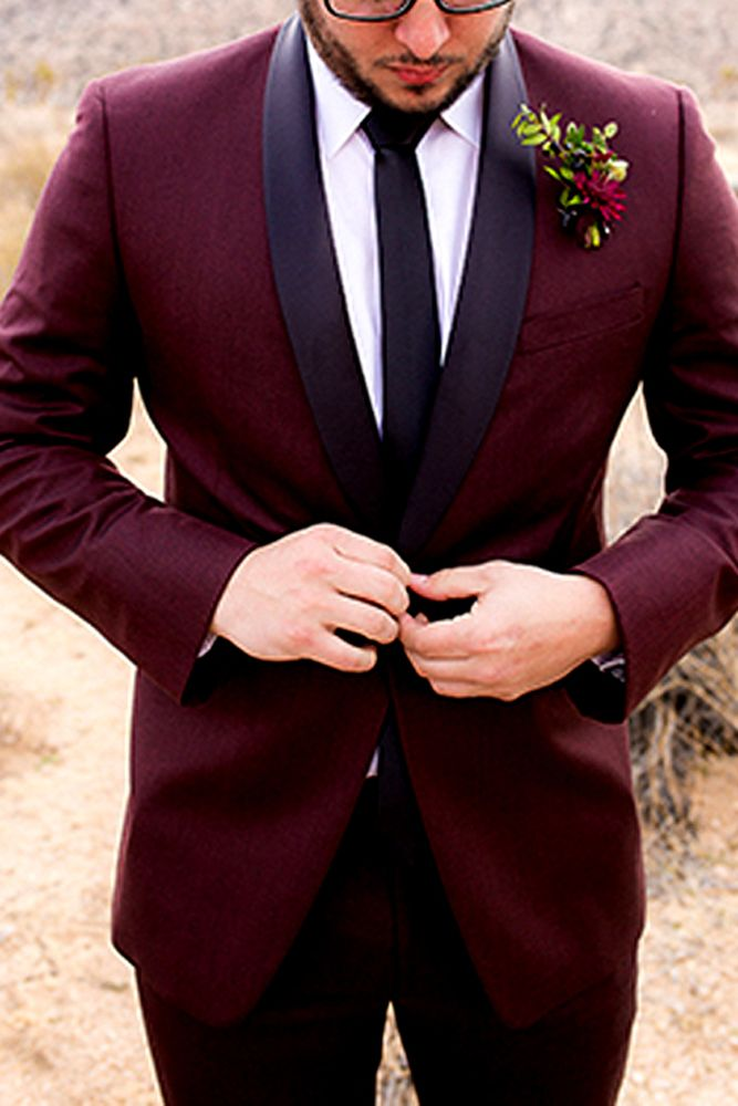 30 The Most Popular Groom Suits ❤ See more: http://www.weddingforward.com/groom-suits/ #weddings