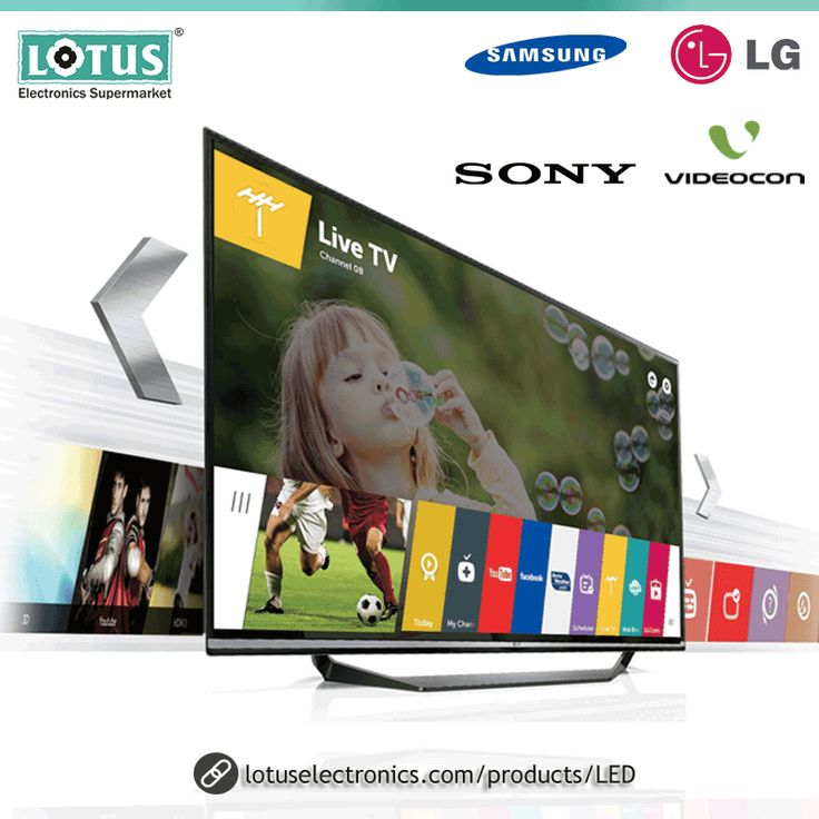 Are you planning to buy an LED TV? Buy a smart & modern LED TV online and take your home entertainment experience to the next level. Buy Big Screen LED TV online at the affordable price at the Lotus Electronics online store. Lotus have wide range LG LED TVs, Sony LED TVs, Panasonic LED TVs, Philips LED TVs and more. Buy your favorite brand LED TV online now with Free Shipping.