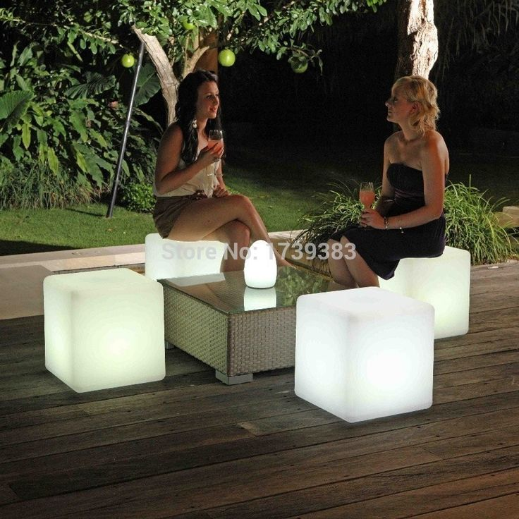 189.68$  Watch now - http://alipb2.worldwells.pw/go.php?t=32315718996 - Wholesale 50CM100% unbreakable led Furniture chair Magic Dic Remote controll square cube luminous light for variety of occasions 189.68$