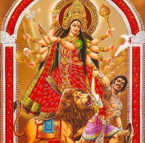 Navratri is a festival dedicated to the worship of the Hindu deity Durga.
