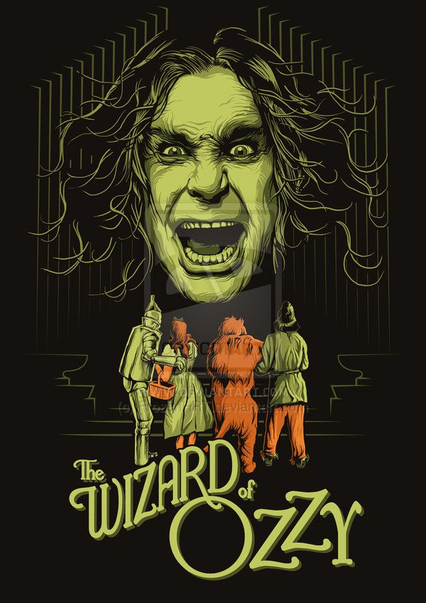 The Wizard of Ozzy by FrozenHRT on deviantART