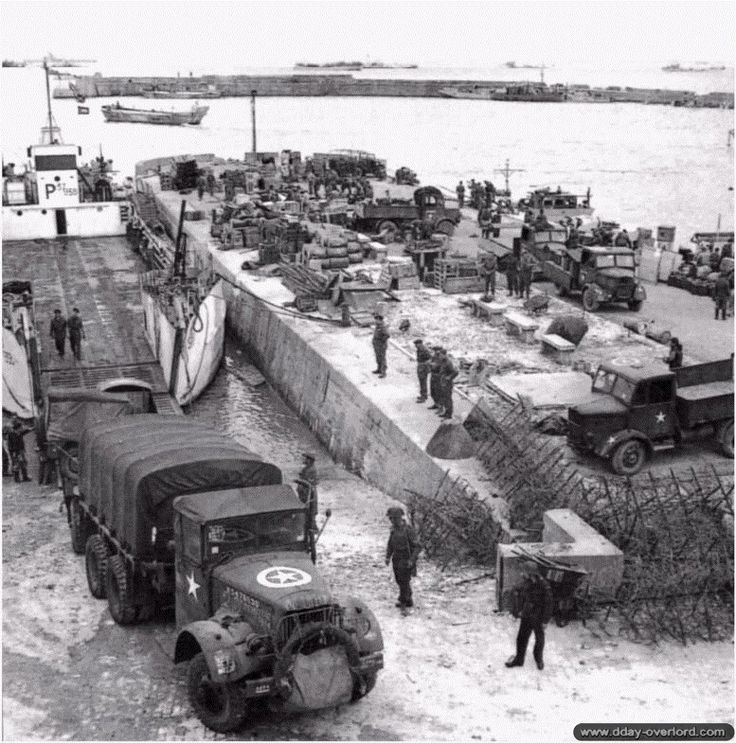 d day landing assembly
