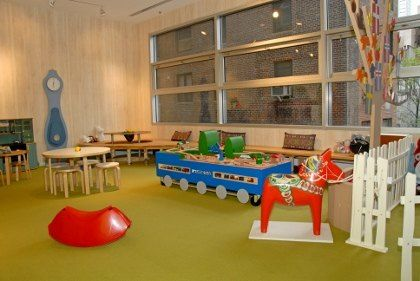 scandinavian house playroom | Scandinavia House's Redesigned Heimbold Family Children's Playing ...