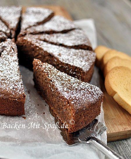 Schweizer Schokoladenkuchen - Rezept