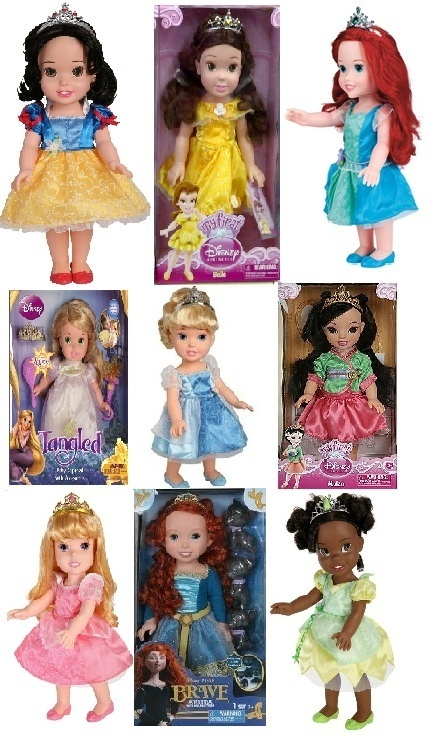 "New 9 My First Disney Princess Baby Dolls 15"" and 4 Royal Pajamas and Dress Set | eBay"