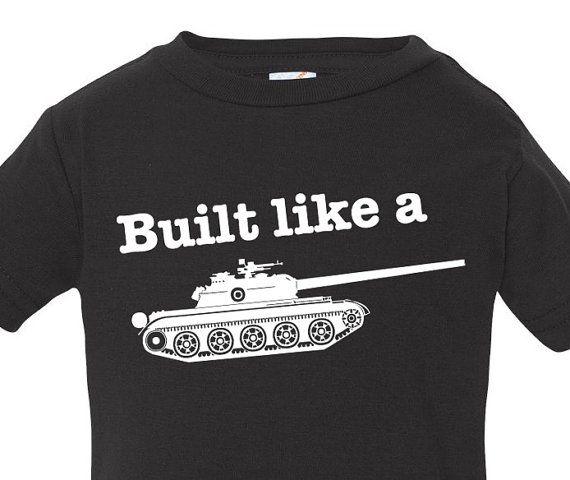 100 best anklebiterskids images on pinterest baby for Built for war shirt
