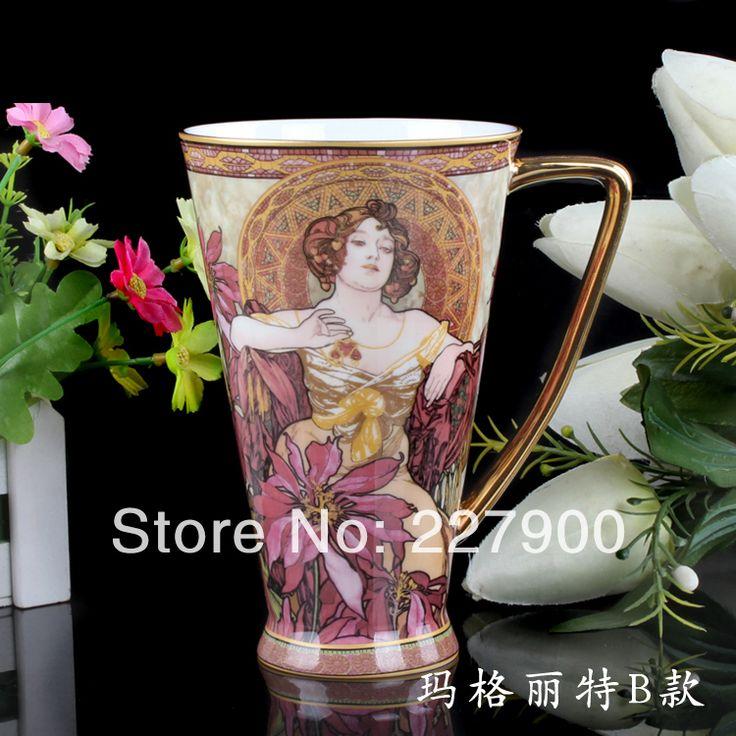 Творческий биг-бон кружка керамическая Tea Cup кофейные кружки стакана молока - масло барышня - B персонализированные кружки бесплатная доставка