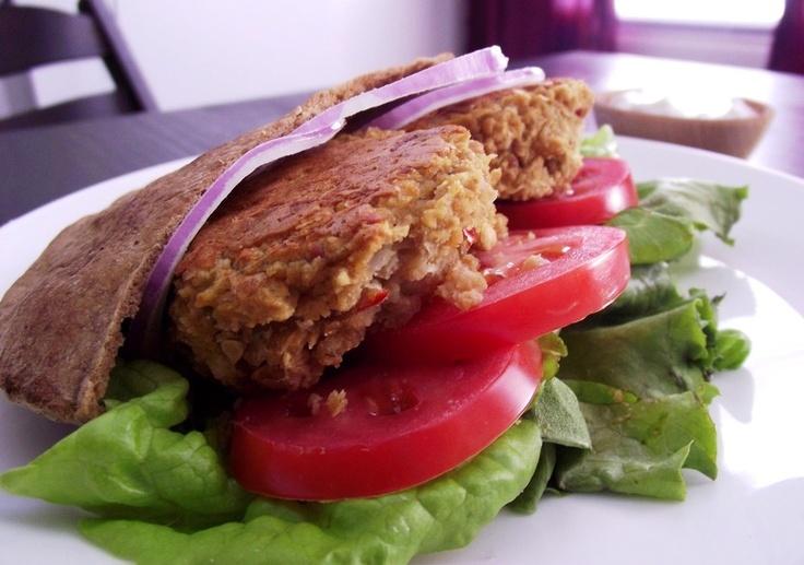 Baked falafel | Vegetarian | Pinterest