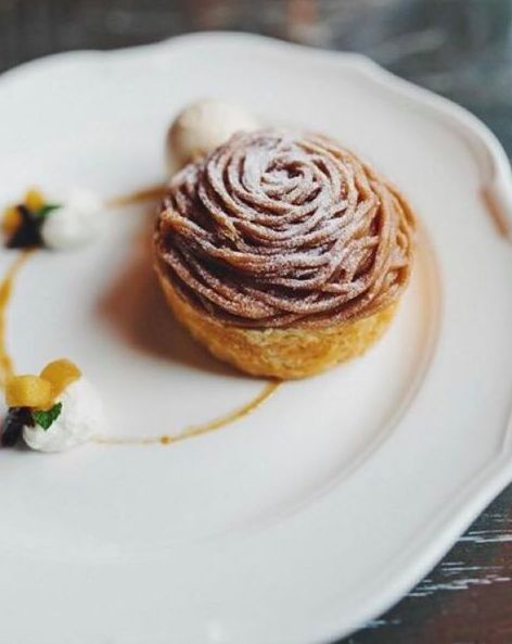 End your week on a sweet note with the gorgeous Monte Bianco, created by Nico Osteria pastry chef @leighomilinsky!