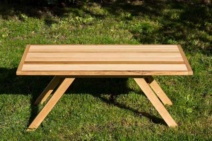 Coffee Table made of three types of wood ash,beech and oak by PriosTeam on Etsy
