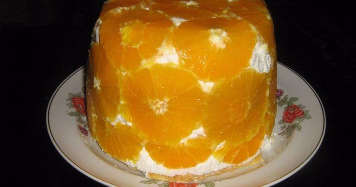 Mennyei Túrós narancstorta recept! Szeretem a könnyű tortákat,és ez az:)
