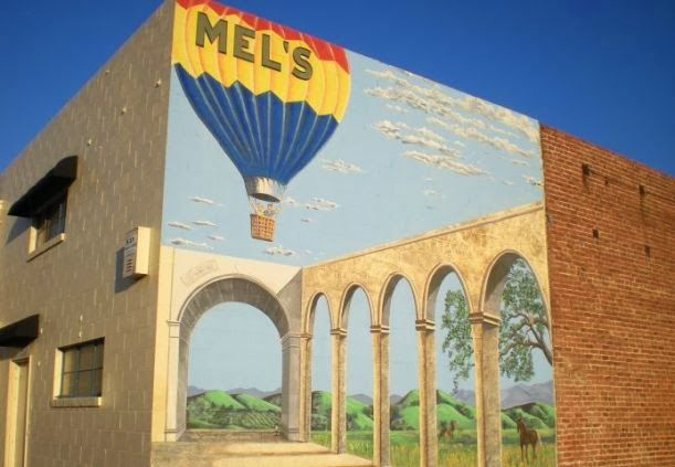 Downtown Livermore Wall Mural