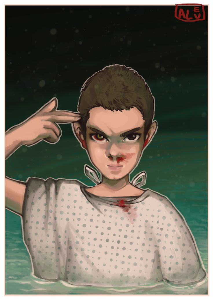 >:( She is our friend and she's crazy [Eleven, Stranger Things]