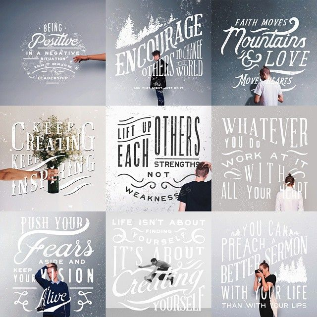 Hipster Typography Inspiration #6