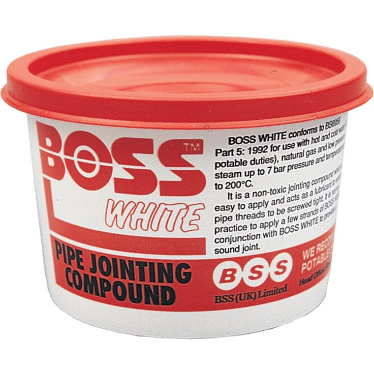 400Gm Tub Boss White Compound: Boss White & Boss GreenThe original compound for screwed joints. For compressed air, water,… #ShoppingUK