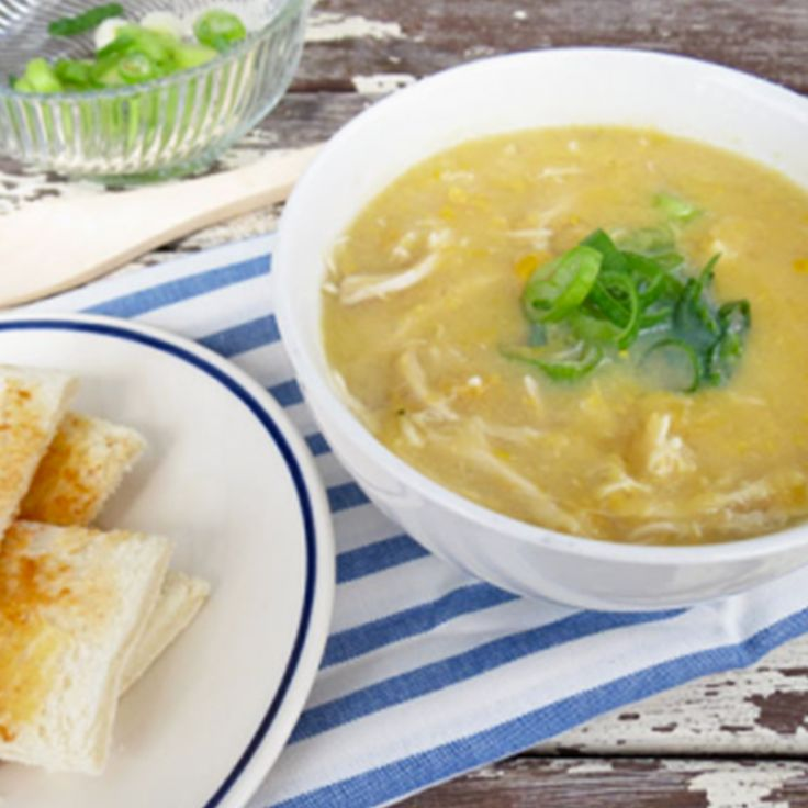 Let that Chinese chicken and sweet corn soup simmer away, while you get on with…