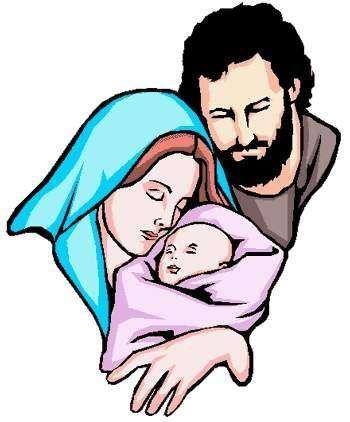 FAMILIA: MARÍA, SAN JOSÉ Y  EL NIÑO JESÚS. Familia conocida por todos...Esta familia es una familia nuclear ya que consta de padre, madre y el hijo que convive con ellos.   Debido a que sus roles están totalmente definidos donde la mujer es la encargada del cuidado del hogar e hijo y el padre tiene la función de trabajar fuera de casa y ser el sustento económico de la familia, por ello es una familia tradicional.