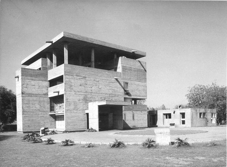 Le Corbusier's Villa Shodhan, Ahmedabad, India, 1951