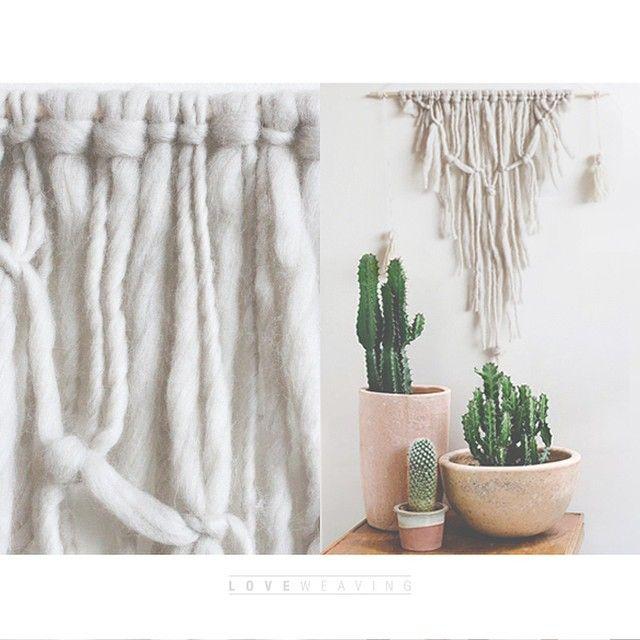 Nuevo TELAR NUDOS CRUDO, tengo uno disponible☝️ #weaving #telar #hechoenchile #hechoamano #handmade #design #wallart #wallhangig #woven #decor