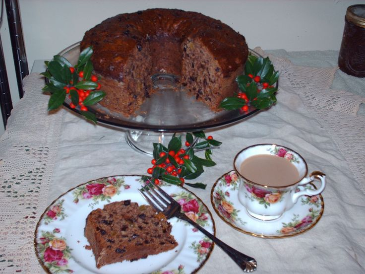 how to make homemade fruit cake