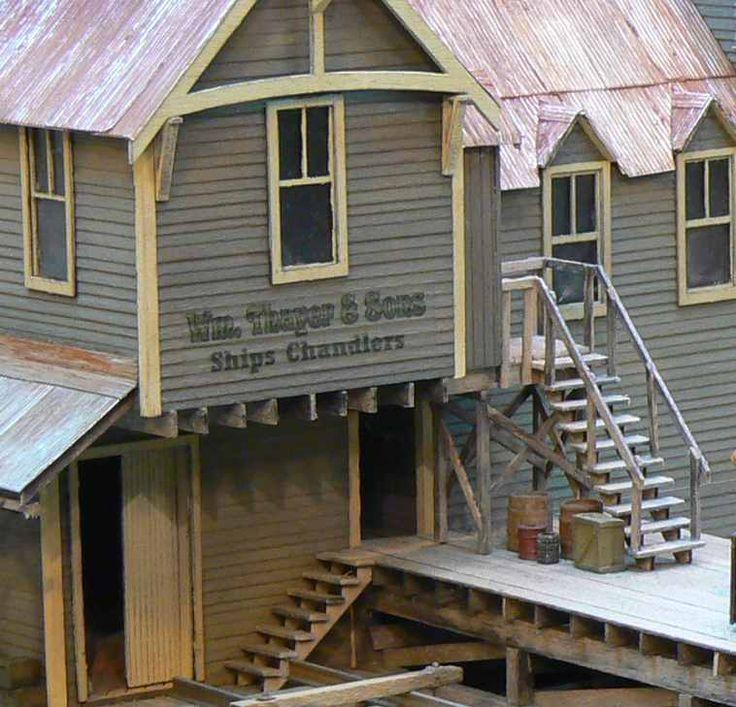 Railroad Line Forums: 17 Best Images About Model Railroad Buildings On Pinterest