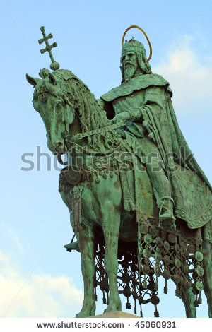 saint etienne statue budapest - Google Search