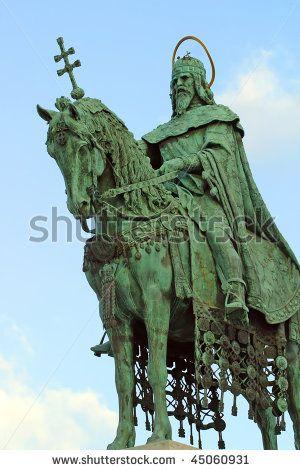 saint etienne statue budapest - Google Search